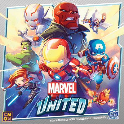 Marvel United - Cover