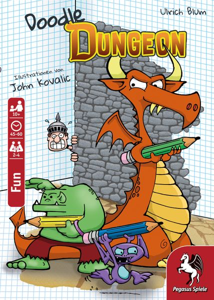 Doodle Dungeon Cover