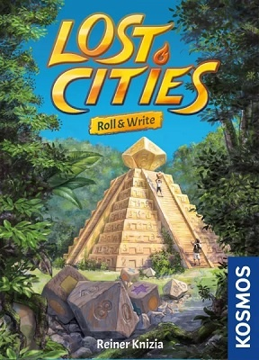 Lost Cities Roll and Write