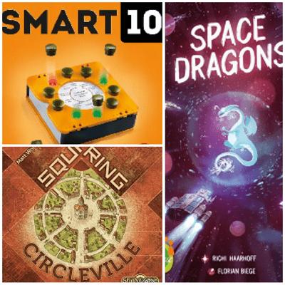 Meine ersten Male - Space Dragons - Smart 10 - Squaring Circleville