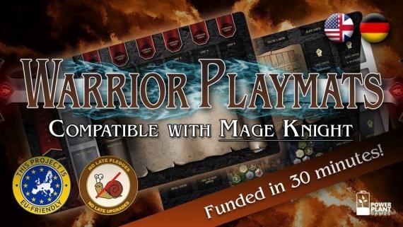 Mage Knight Playmats