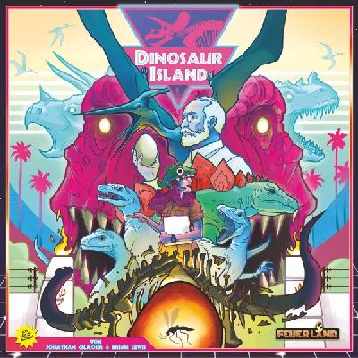 Dinosaur Island - Cover