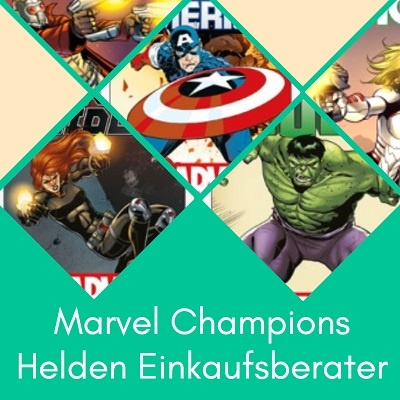 Einkaufsberater Marvel Champions Helden