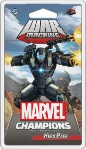 Cover der Helden-Erweiterung zu Marvel Champions: War Machine