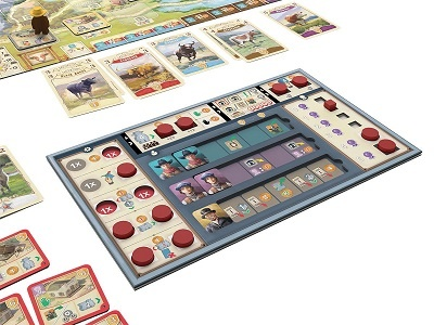 Great Western Trail - Spielsituation