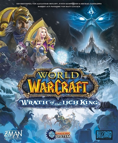 World of Warcraft - Wrath of the Lich King - Cover